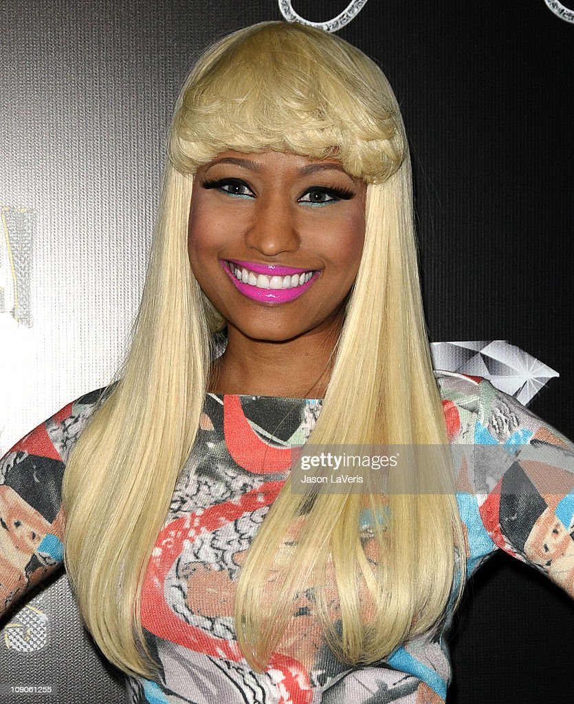 Nicki Minaj attends the Cash Money Records annual Pre-Grammy Awards party at The Lot on February 12, 2011 in West Hollywood, California.
