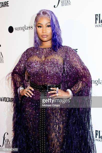 Nicki Minaj attends The Daily Front Row 6th Annual Fashion Media Awards at Park Hyatt New York on September 6 2018 in New York City