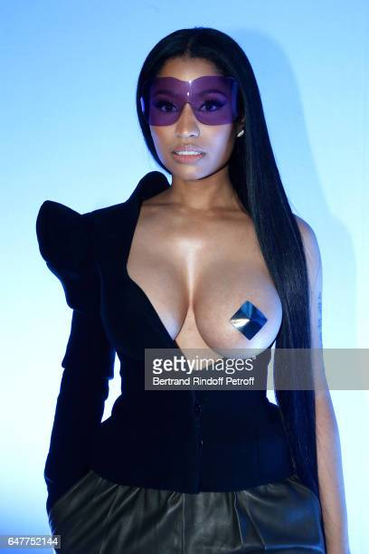 Nicky Minaj Fashion Week Boobs