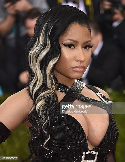 Nicki Minaj attends the 'Manus x Machina Fashion In An Age Of Technology' Costume Institute Gala at Metropolitan Museum of Art on May 2 2016 in New...