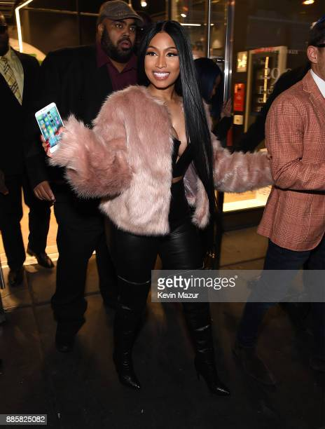 Nicki Minaj attends the Prive Reveaux eyewear flagship launch on December 4 2017 in New York City