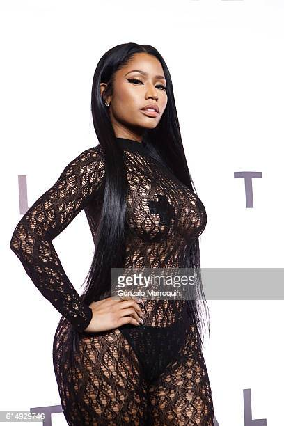Nicki Minaj attends the TIDAL's Second Annual Philanthropic Festival at Barclays Center of Brooklyn on October 15 2016 in New York City