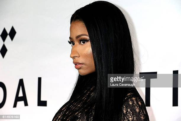 Nicki Minaj attends TIDAL X 1015 at Barclays Center on October 15 2016 in New York City