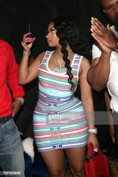Nicki Minaj cohosts Church On Sundays at The Argyle on February 8 2019 in Hollywood California