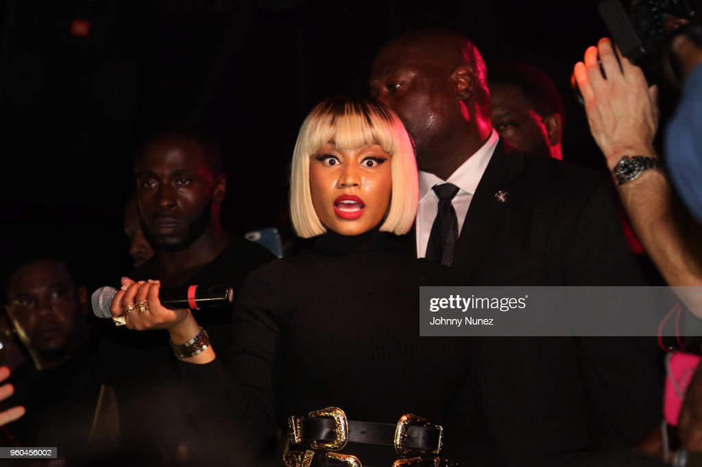 Nicki Minaj Hosts The Highline Ballroom : News Photo