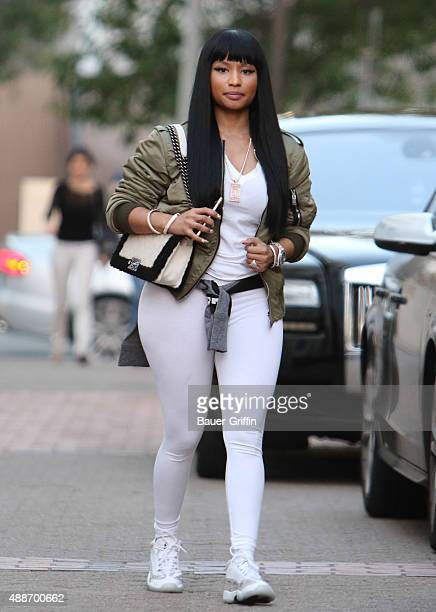 Nicki Minaj is seen on September 16 2015 in Los Angeles California