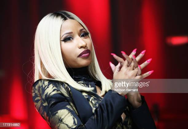 Nicki Minaj onstage at the 2013 BMI RB/HipHop Awards at Hammerstein Ballroom on August 22 2013 in New York City