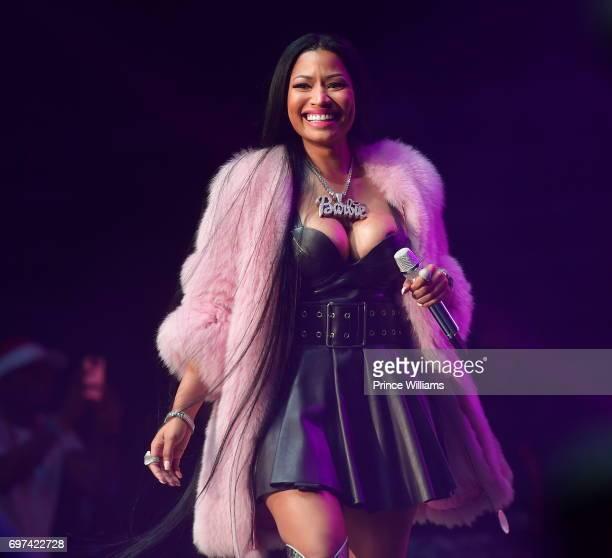 Nicki Minaj performs at Birthday Bash ATL The Pop Up Edition Concert at Philips Arena on June 17 2017 in Atlanta Georgia