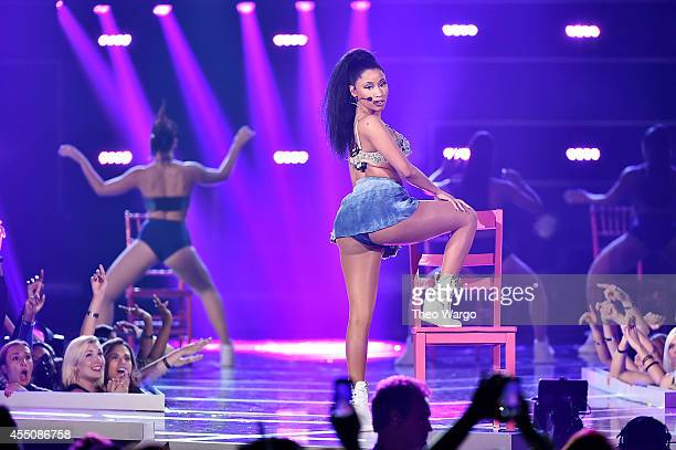 Nicki Minaj performs at Fashion Rocks 2014 at the Barclays center on September 9 2014 in New York United States