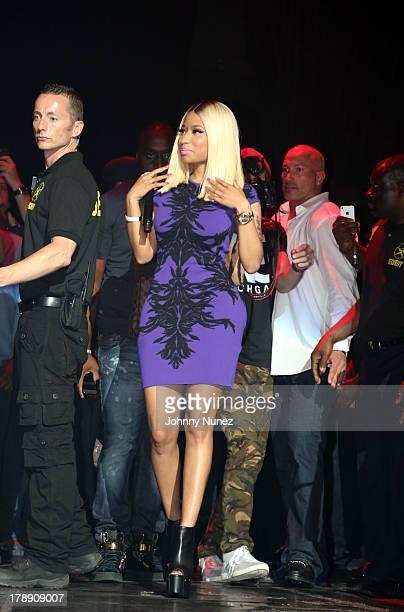 Nicki Minaj performs at the 2013 On Da Reggae Tip concert event at Hammerstein Ballroom on August 30 2013 in New York City