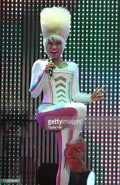 Nicki Minaj performs during the I Am Still Music 2011 tour opener at the Dunkin' Donuts Center on March 16, 2011 in Providence, Rhode Island.