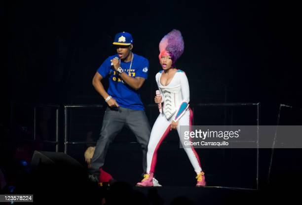 Nicki Minaj performs during the I Am Still Music tour at the Wells Fargo Center on March 26 2011 in Philadelphia Pennsylvania