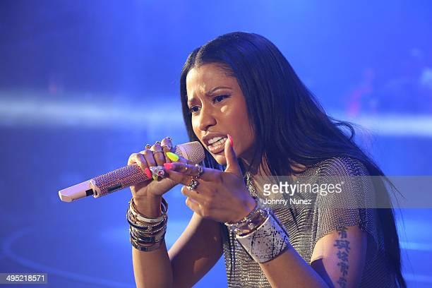 Nicki Minaj performs in concert during Hot 97 Summer Jam 2014 at MetLife Stadium on June 1 2014 in East Rutherford City