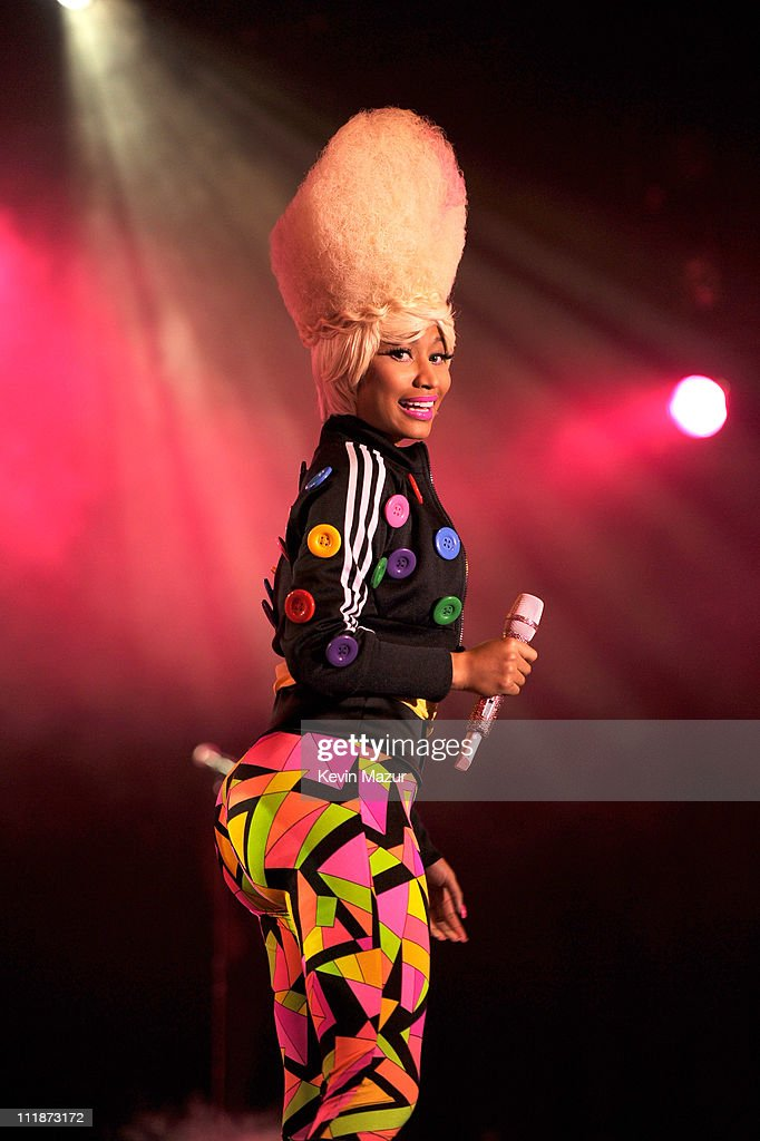 Casio Teams Up With Nicki Minaj And The Roots To Launch The New TRYX Digital Camera : News Photo
