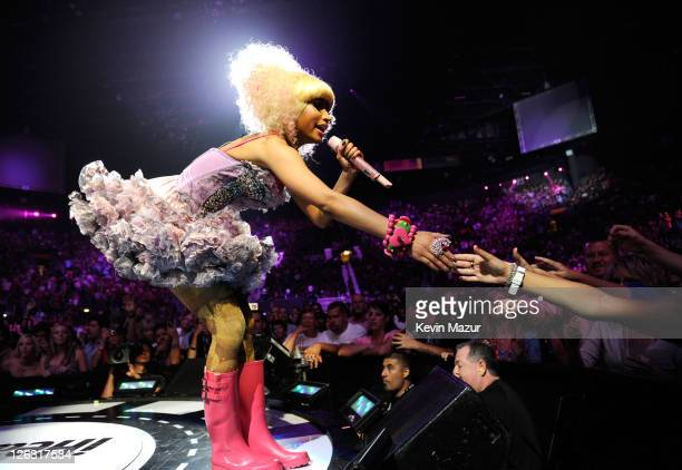 Nicki Minaj performs onstage at the iHeartRadio Music Festival held at the MGM Grand Garden Arena on September 24, 2011 in Las Vegas, Nevada.