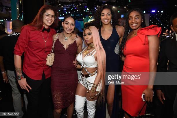Nicki Minaj poses during the 2017 NBA Awards Live on TNT on June 26 2017 in New York New York 27111_002