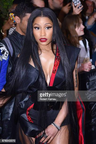 Nicki Minaj seen out in Manhattan before attending the MET Gala event on May 1 2017 in New York City