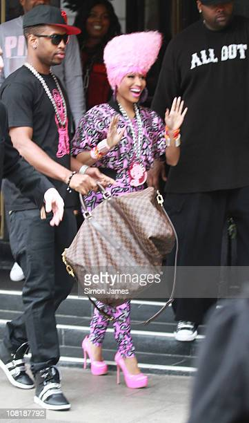 Nicki Minaj sighted at the Dorchester Hotel on January 20 2011 in London England