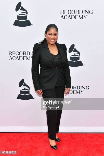 Nicki Richards attends the 60th GRAMMY Nominee Luncheon on January 11 2018 in New York City