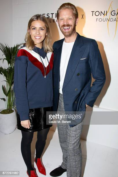 Nicki Shields and Alistair Guy attend the Vestiaire x Toni Garrn Supermodel Charity Sale in Covent Garden on November 9 2017 in London England