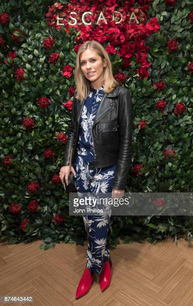 Nicki shields attends New Flagship Store Opening of Luxury Fashion Brand ESCADA on Sloane Street on November 15 2017 in London England