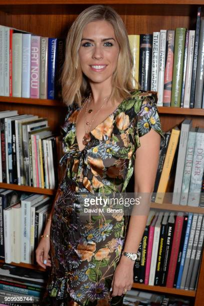 Nicki Shields attends the ABB Formula E dinner in Berlin with Emily Ratajkowski ahead of the BMW i Berlin EPrix at China Club on May 18 2018 in...
