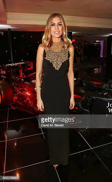 Nicki Shields attends the Autosport Awards drinks reception at The Grosvenor House Hotel on December 6 2015 in London England