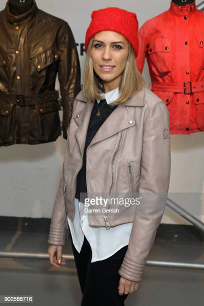 Nicki Shields attends the Belstaff AW18 Mens Womens Presentation during London Fashion Week Men's January 2018 on January 8 2018 in London England
