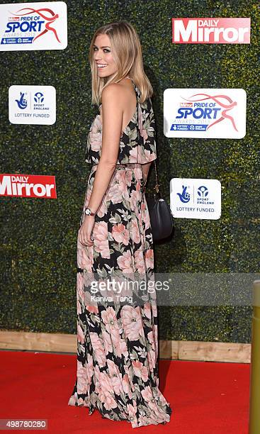 Nicki Shields attends the Daily Mirror Pride Of Sport Awards at Grosvenor House on November 25 2015 in London United Kingdom