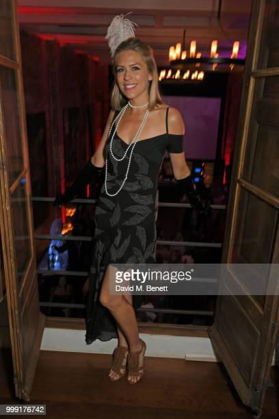 Nicki Shields attends the Formula E 1920's cocktail party hosted by Liv Tyler on the eve of the final race of the 2017/18 ABB FIA Formula E...
