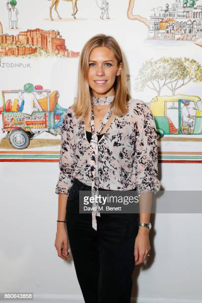 Nicki Shields attends the Travels to My Elephant racer sendoff party hosted by Ruth Ganesh Ben Elliot and Waris Ahluwalia in association with The...