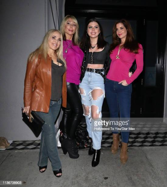 Nicki Simpson Kathryn Henzerling Jade Olivia and Carrie Stevens are seen on April 12 2019 in Los Angeles California