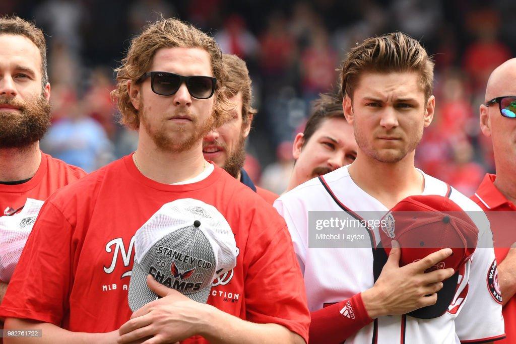 San Francisco Giants v Washington Nationals : News Photo