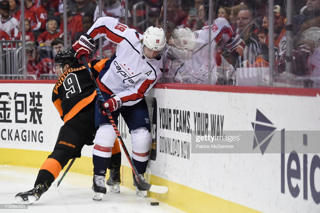 DC: Philadelphia Flyers v Washington Capitals