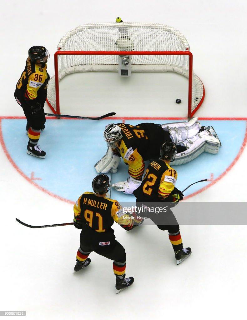 Canada v Germany - 2018 IIHF Ice Hockey World Championship