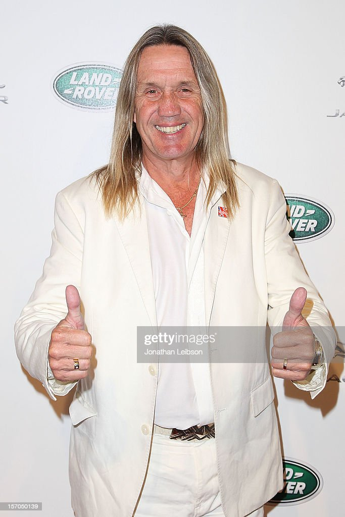 Nicko McBrain attends the Jaguar And Land Rover Celebrate 2012 Auto Show Arrivals At Paramount Studios at Paramount Studios on November 27, 2012 in Hollywood, California.
