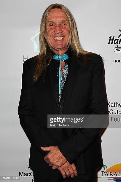 Nicko McBrain of Iron Maiden attends HomeSafe Classic Rock Roll Party at Seminole Hard Rock Hotel Casino Hollywood on February 6 2016 in Hollywood...