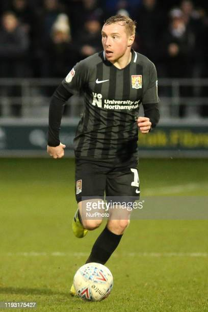 Nicky Adams of Northampton Town FC during the Sky Bet League 2 match between Salford City and Northampton Town at Moor Lane Salford on Saturday 11th...