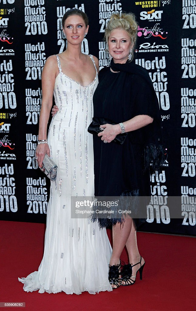 Nicky and Kathy Hilton at the 'World Music Awards 2010 - show' at the Sporting Club on May 18, 2010 in Monte Carlo, Monaco.