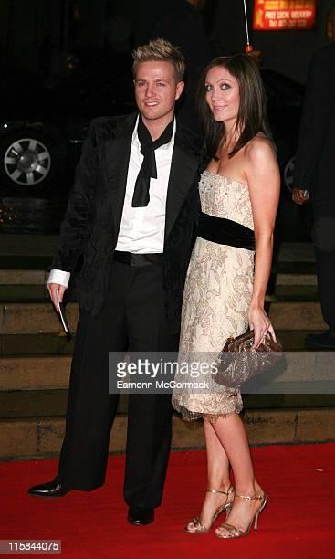 Nicky Byrne from Westlife and Georgina Ahern during 2006 Emeralds and Ivy Ball in Celebration of Cancer Research at The Roundhouse in London Great...