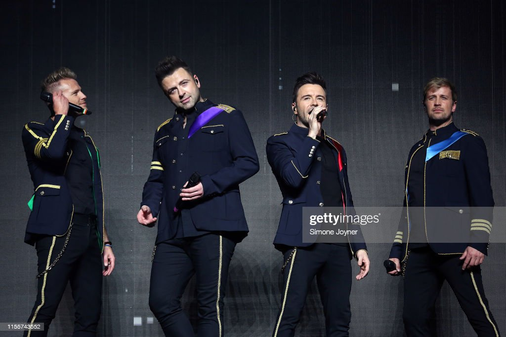 Westlife - Twenty Tour at The O2 Arena : Nieuwsfoto's