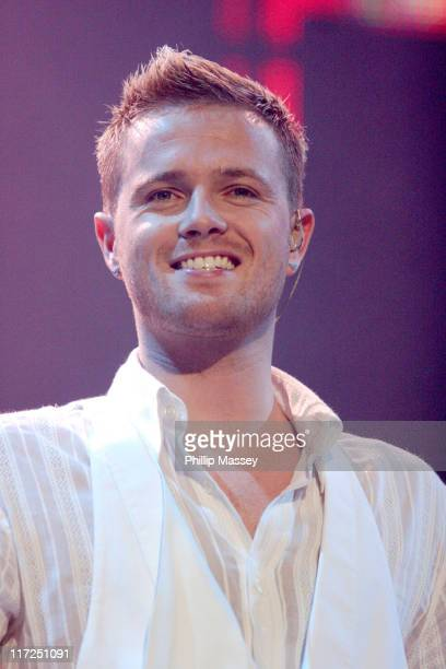 Nicky Byrne of Westlife during Westlife in Concert at The Point in Dublin April 11 2006 at The Point in Dublin Ireland