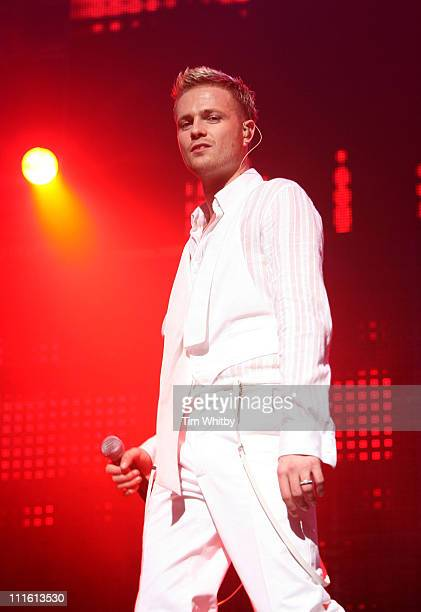 Nicky Byrne of Westlife during Westlife Performs Their 23rd Concert at Wembley Arena May 18 2006 at Wembley Arena in London Great Britain
