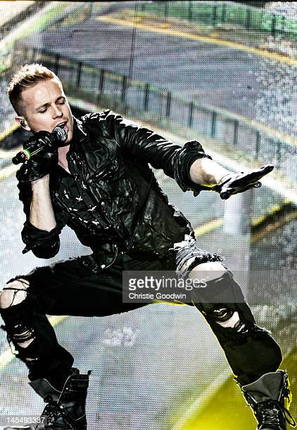 Nicky Byrne of Westlife performs on stage at the O2 Arena on May 12 200 in London United Kingdom