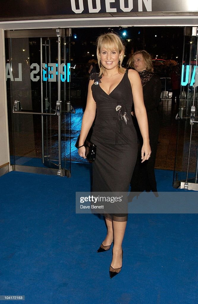 Nicky Chapman, 'Master And Commander: The Far Side Of The World' Royal Premiere At The Odeon Leicester Square, London