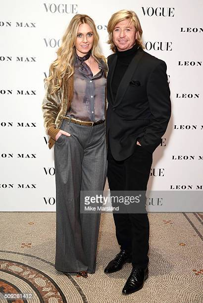 Nicky Clarke attends at Vogue 100 A Century Of Style atNational Portrait Gallery on February 9 2016 in London England
