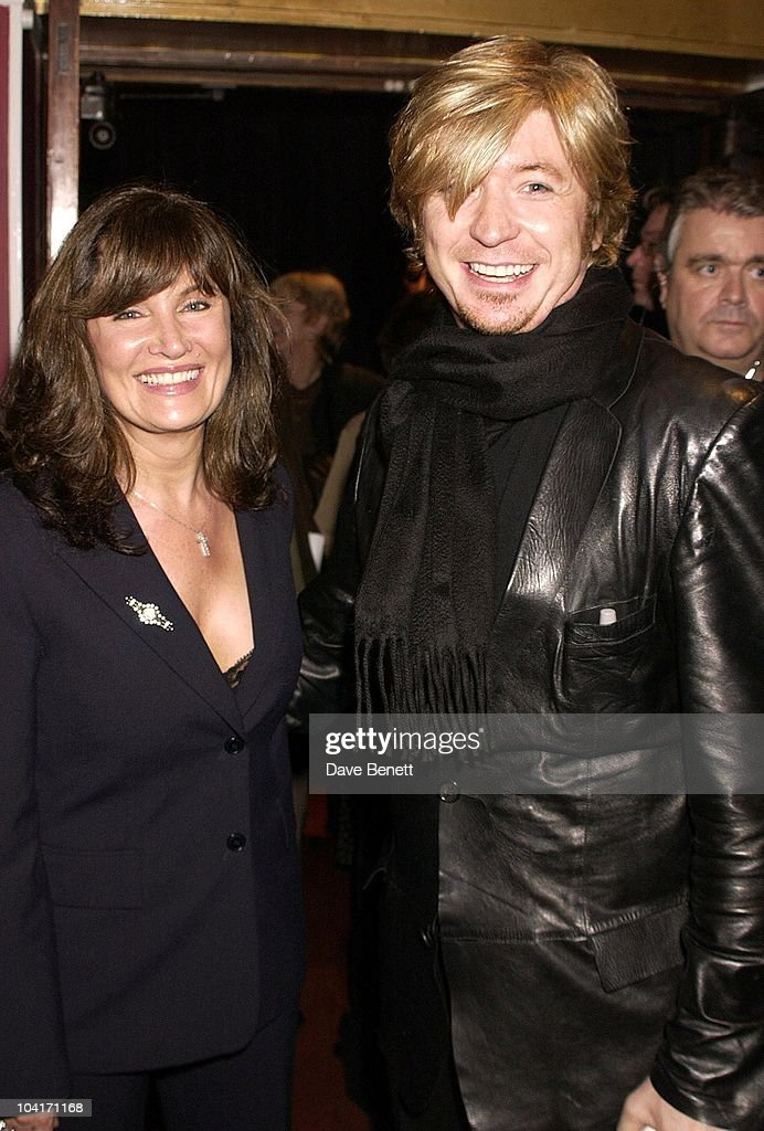 Nicky Clarke With His Wife, Special Charity Preview Of Boy George's New Musical 'Taboo' In Aid Of The Mercury Phoenix Trust And The Child Welfare Society. At The Venue In Leicester Square, London And Then The Party At Soho House.
