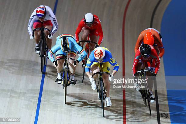 Nicky Degrendele is a Belgium Lili Liu of China Katy Marchant of Great Britain Lee Wai Sze of Hong Kong Shanne Braspennincx of the Netherlands and...