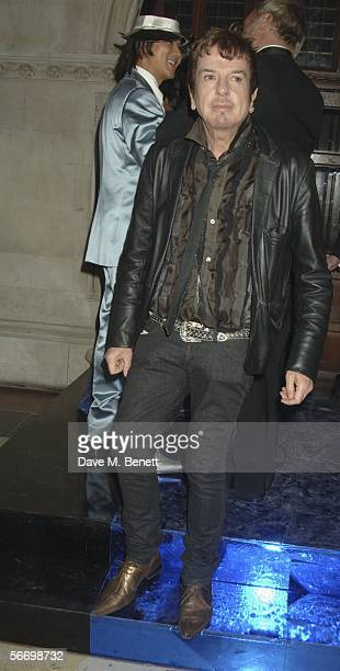 Nicky Haslam attends Andy and Patti Wongs Chinese New Year Party at the Royal Courts Of Justice on January 28 2006 in London England The dress code...