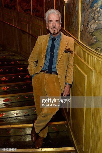 Nicky Haslam attends the Al Films and Warner Music After party of Kill Your Friends at The Box Soho on October 27 2015 in London England